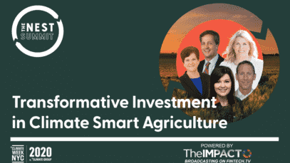 Transformative Investment in Climate Smart Agriculture