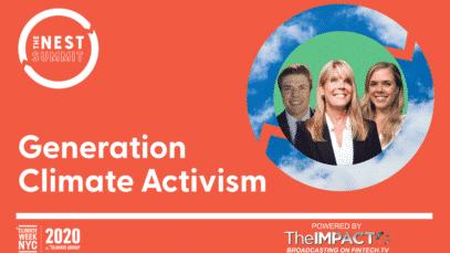 GENERATION CLIMATE ACTIVISM