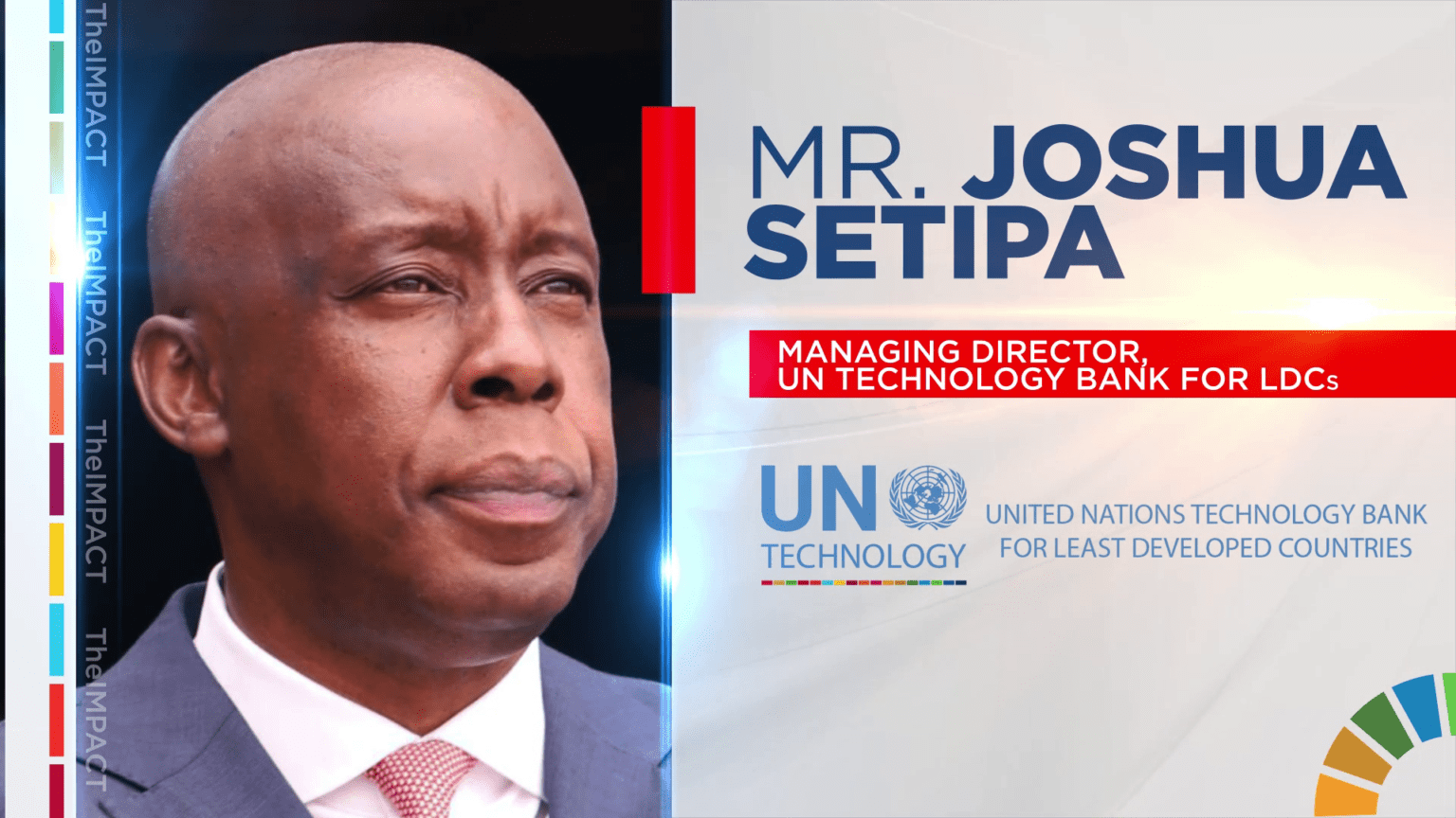 Joshua Setipa - Managing Director - UN Technology Bank
