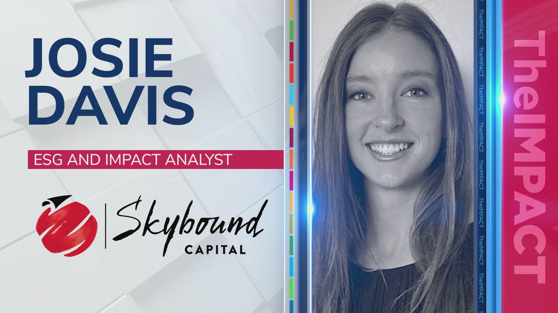 Josie Davis, ESG & Impact Analyst at Skybound Capital