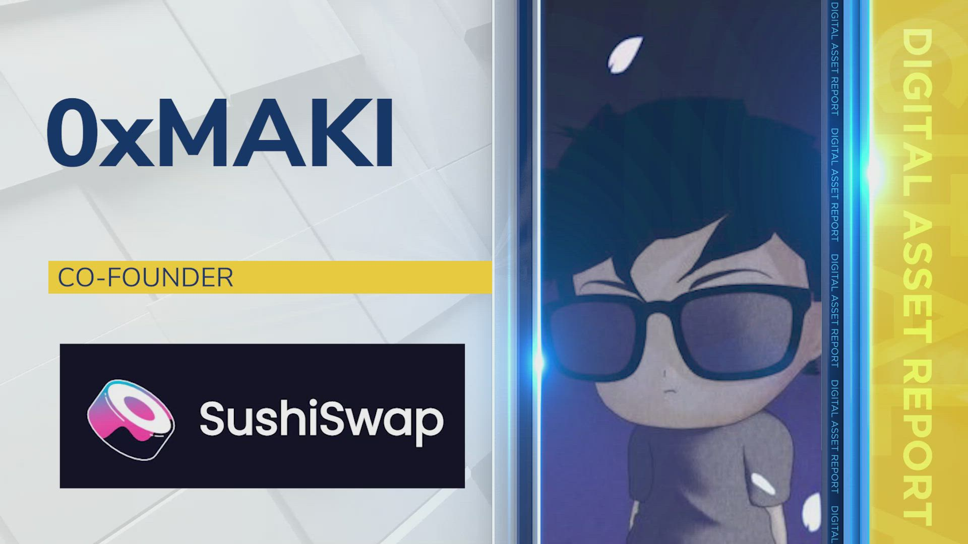 0xMaki, Co-Founder ofSushiswap