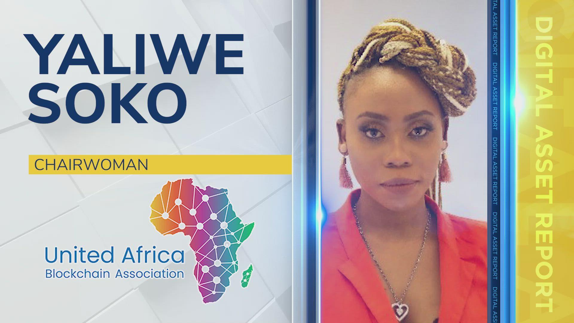Yaliwe Soko, Chairwoman of the United Africa Blockchain Association