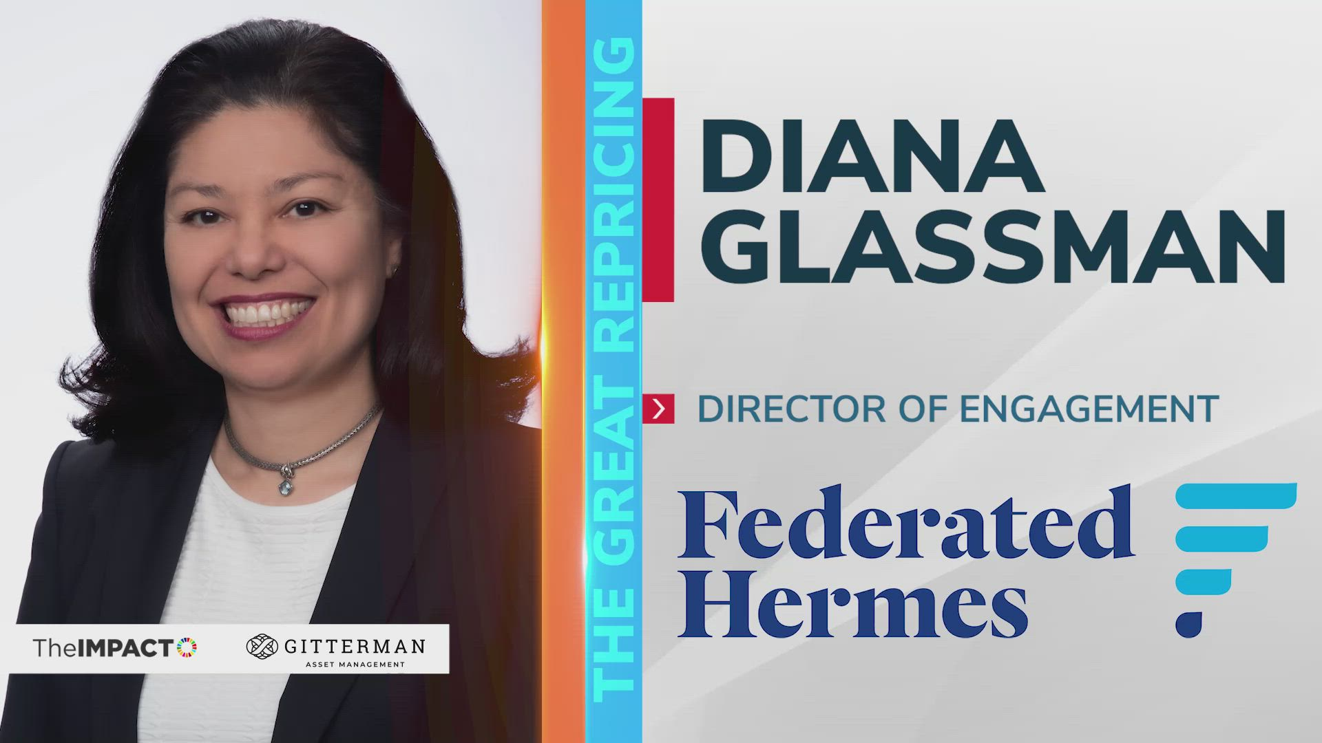 Diana Glassman, Director of Engagement of Federated Hermes