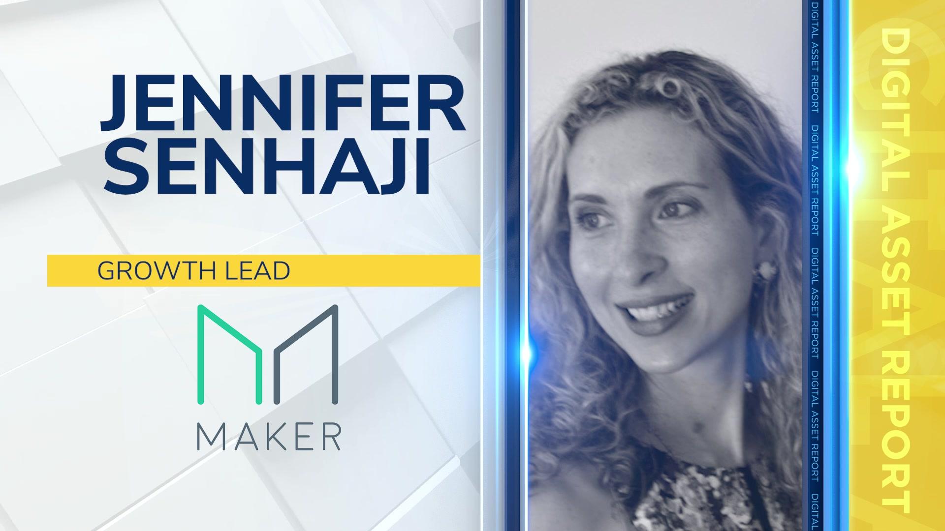 Jennifer Senhaji, Growth Lead at MakerDAO